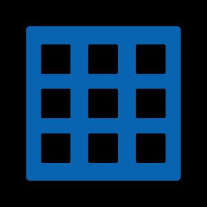 Icon Options Blue