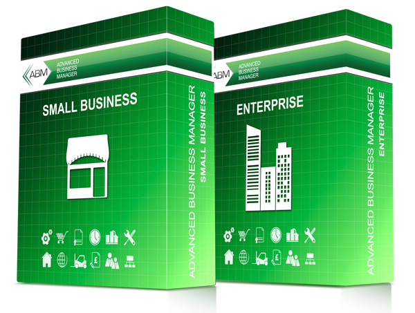 Advanced Business Manager Small business and Enterprise software package editions